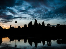 Sunrise Angkor Wat Royalty Free Stock Photo