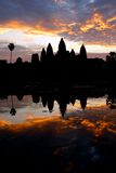 Sunrise at angkor wat, cambodia Stock Photos