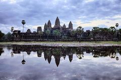 Sunrise At Angkor Wat Stock Photography