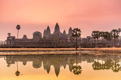 Sunrise at Angkor Wat. Stock Photography