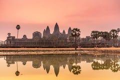 Sunrise at Angkor Wat. Stock Photography