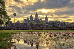 Angkor Wat Temple - Siem Reap - Cambodia Stock Photos