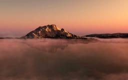 Sunrise in Antarctica. Stock Image