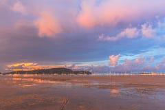 Sunrise at Ao Chalong Royalty Free Stock Image