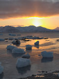 Sunrise in the Arctic Royalty Free Stock Images