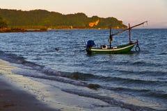 sunrise asia  the  lomprayah bay white  beach    rocks  china se Royalty Free Stock Photos