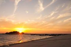Sunrise At Lipe Island, South Of Thailand Royalty Free Stock Photo