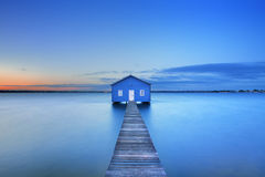 Sunrise At Matilda Bay Boathouse In Perth, Australia Royalty Free Stock Photography