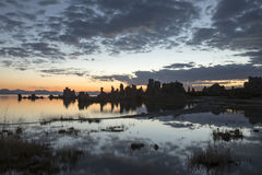 Free Sunrise At Mono Lake Tufa State Reserve Royalty Free Stock Photos - 98591958