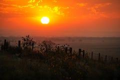 Free Sunrise At North Platte River Valley, Western Nebraska, USA Royalty Free Stock Photos - 146040048