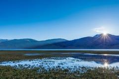Free Sunrise At Tso Morir. Ladakh, India Royalty Free Stock Images - 39553449