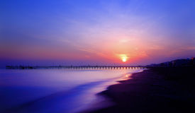Sunrise at Atakum Royalty Free Stock Photography
