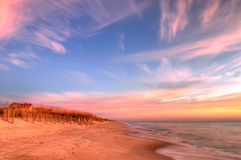 Sunrise on the Atlantic Coast Stock Image