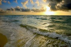 Sunrise, Atlantic ocean coast, FL Stock Images