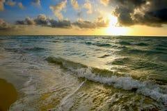 Sunrise, Atlantic ocean coast, FL. USA Stock Images