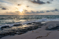 Sunrise on the Atlantic Ocean Stock Image
