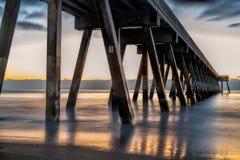 Sunrise On The Atlantic Ocean stock images