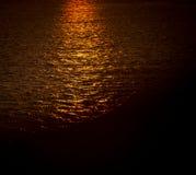 Sunrise on the Atlantic ocean. In Nova Scotia Stock Photo