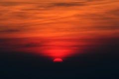 Sunrise Background. Sky red just after sunrise Stock Images