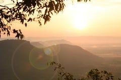 Sunrise background. Background sunrise over the mountains royalty free stock image