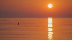 Sunrise background in Turkey stock footage