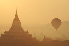 Sunrise at Bagan Royalty Free Stock Photos