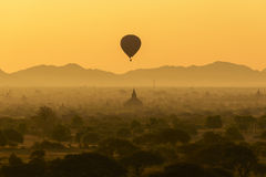 Sunrise in Bagan Stock Photos