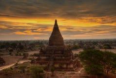 Sunrise in Bagan Myanmar Royalty Free Stock Photo