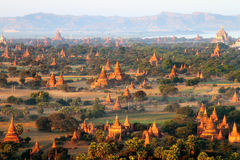 Sunrise in Bagan, Myanmar Stock Images