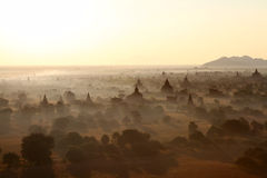 Sunrise in Bagan, Myanmar Stock Photography