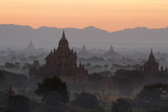 Sunrise on Bagan Stock Images