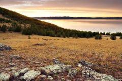 Sunrise at Baikal Royalty Free Stock Images