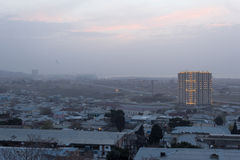 Sunrise in Baku Royalty Free Stock Images