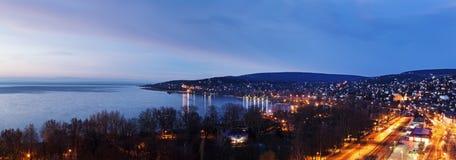 Sunrise by Balaton Lake Stock Photography