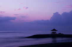 Sunrise in Bali Royalty Free Stock Photos