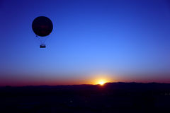 Sunrise balloon Royalty Free Stock Photos