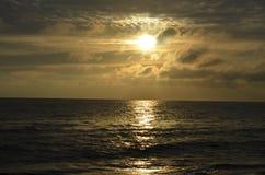 Sunrise at Baltic sea Stock Photos