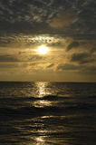 Sunrise at Baltic sea Stock Photography