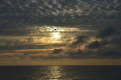 Sunrise at Baltic sea Royalty Free Stock Image