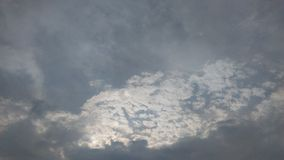 Sunrise in Bangkok. Sunrise sky clouds sun light bangkok thailand Royalty Free Stock Image
