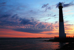Sunrise at Barnegat Light Royalty Free Stock Photography