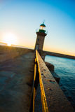Sunrise in bastia Stock Photography