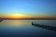 Sunrise On The Bay Stock Photos