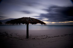 Sunrise on beach royalty free stock images