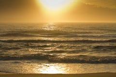 Sunrise Beach. Sunrise on beach of outer banks NC Royalty Free Stock Photos