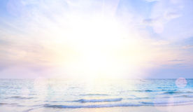 Sunrise beach background Royalty Free Stock Image