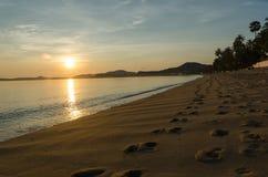 Sunrise at beach Royalty Free Stock Image