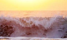 Sunrise at the beach Royalty Free Stock Photo