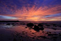 Sunrise, Beach, Ocean, Sea, Sky Royalty Free Stock Image