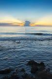 Sunrise on the beach in Spain Stock Photo